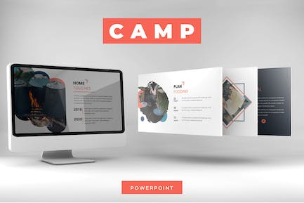 Camp - Powerpoint Template