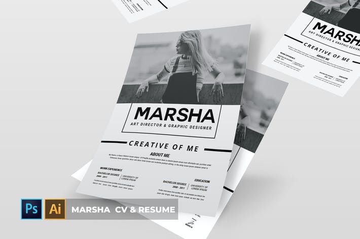 Thumbnail for Marsha | Cv & Resume