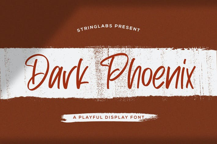 Thumbnail for Dark Phoenix - Playful Display Font