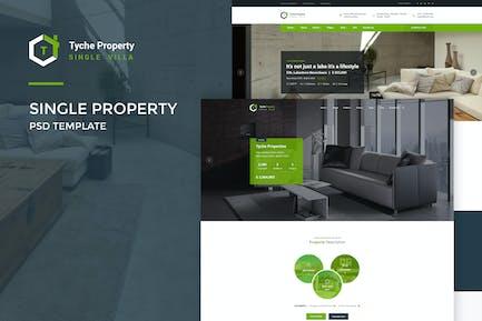 Tyche Properties : Single Property PSD Template