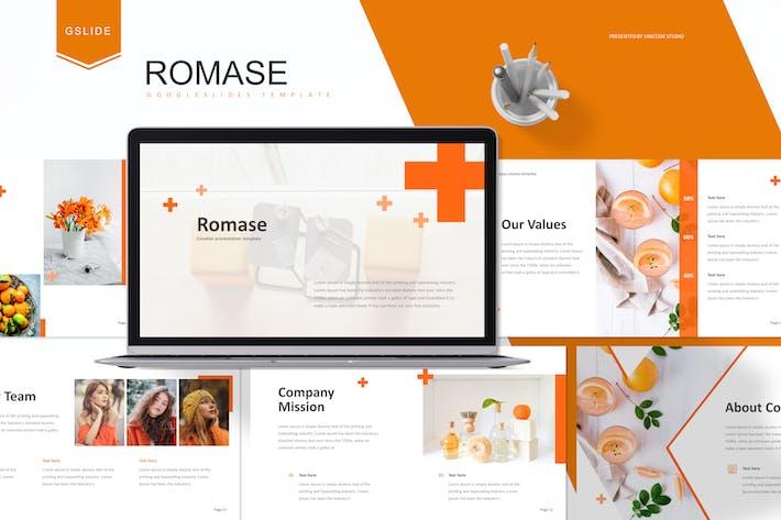 Thumbnail for Romase - Шаблон слайдов Google