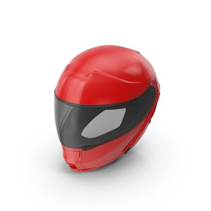 Red Racing Helmet