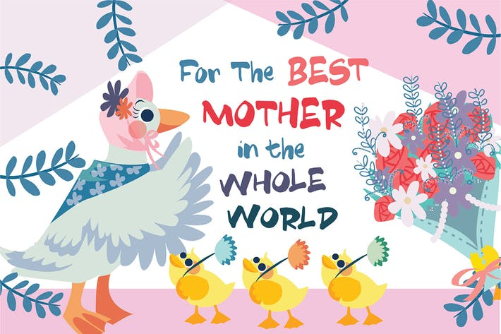 Thumbnail for Mothers Day - Vector Illustration