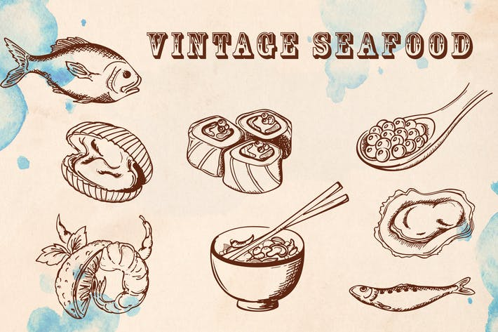 Thumbnail for Vintage Seafood