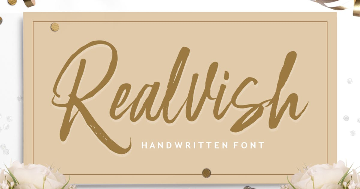 Download Realvish by Solidtype