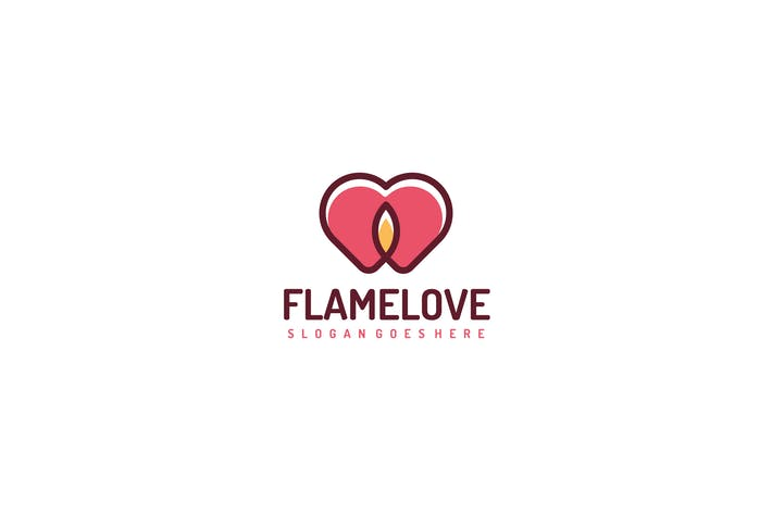 Thumbnail for Flame Love Logo