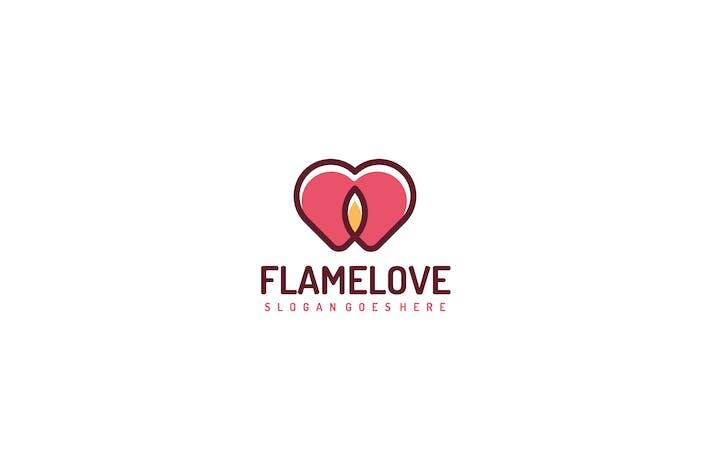 Thumbnail for Пламя Любовь Логотип