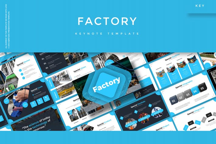 Thumbnail for Factory - Keynote Template