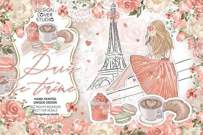 Thumbnail for Paris je t'aime design
