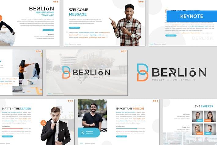 Berlion - Многоцелевой Шаблон Keynote