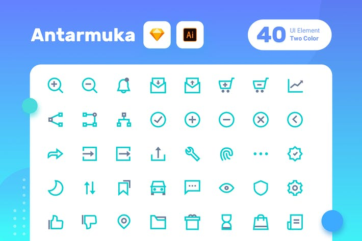 Thumbnail for Antarmuka_Two Color-UI element 3