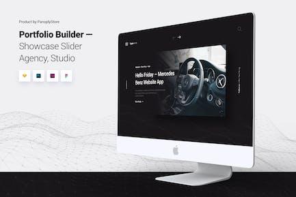 Showcase Slider - Portfolio Design Agency Template
