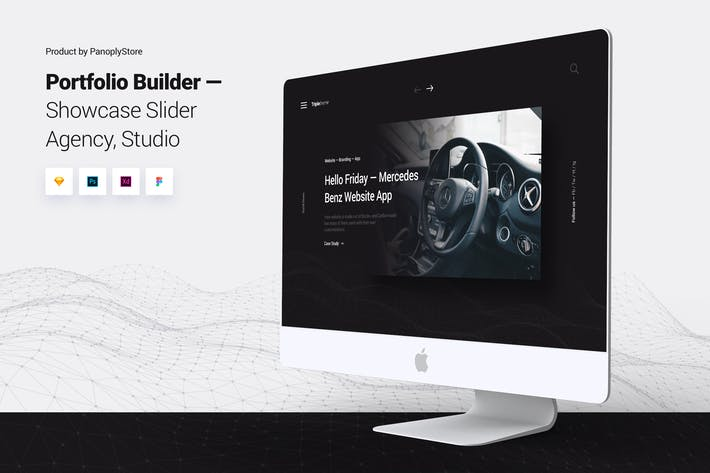 Thumbnail for Showcase Slider - Portfolio Design Agency Template