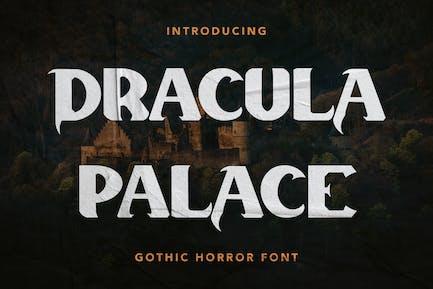 Dracula Palace - Ghotic Horror Font