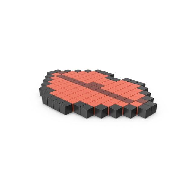 Пиксельные иконки губ