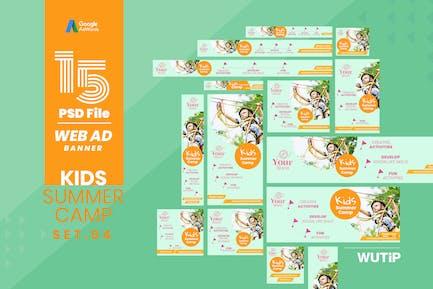 Web Ad Banner-Kids Summer Camp 04