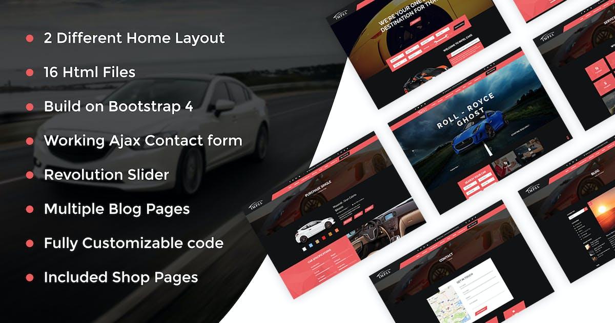 Download Impel Car - Car Dealer HTML Template by kamleshyadav