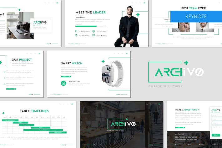 Thumbnail for Archivo - Business Keynote Template
