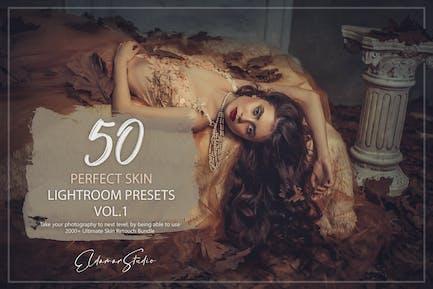 50 Perfect Skin Lightroom Presets - Vol. 1