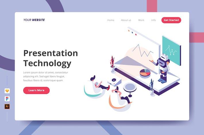 Thumbnail for Technologie de présentation - Page de destination