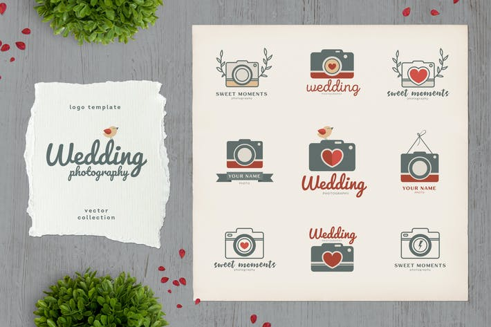 Thumbnail for Wedding Photography Logo Template