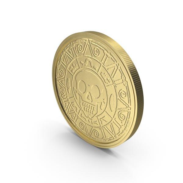 Moneda de Oro Limpia