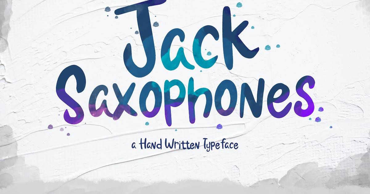 Download Jack Saxophones - Handwritten Typeface by Slidehack
