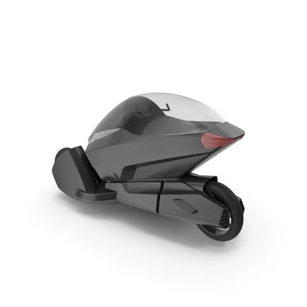Concept Motor Cycle Negro