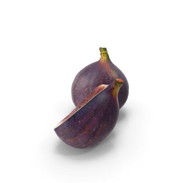 Thumbnail for Black Mission Fig Half