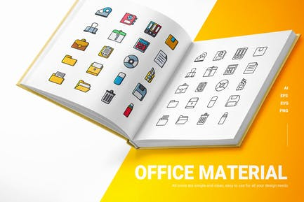 Office Material - Icons