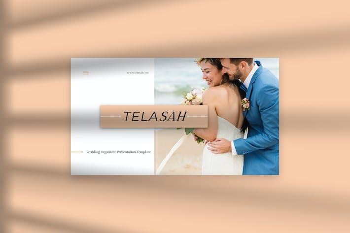 Thumbnail for Теласах свадьба PowerPoint Презентация