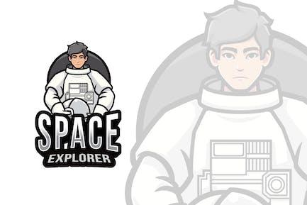 Space Explorer Logo Template