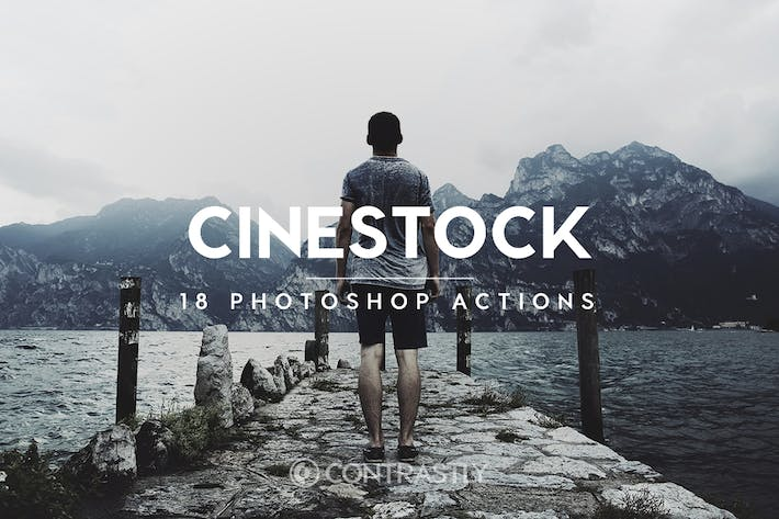 Thumbnail for CineStock Photoshop Actions