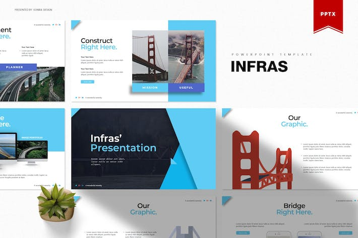 Thumbnail for Infras | Powerpoint-Vorlage