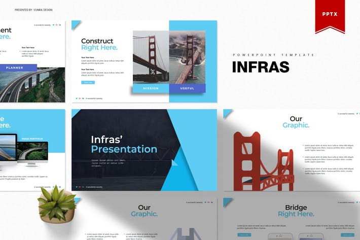 Thumbnail for Infras | Powerpoint Template