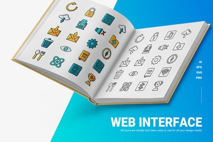 Web Interface - Icons