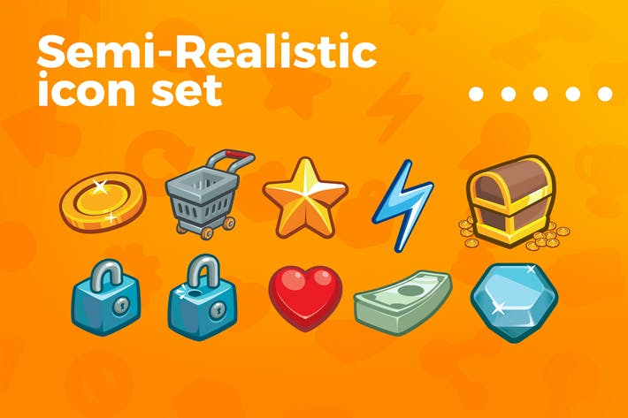 Thumbnail for Games and applications icon set vol 2