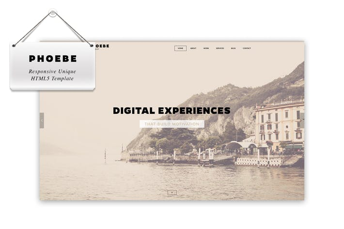 Thumbnail for Phoebe - Responsive HTML5 Template