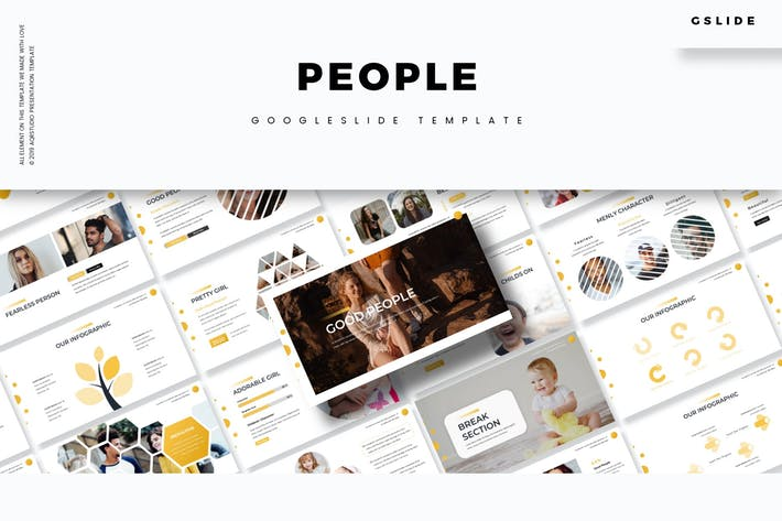 People - Google Slides Template
