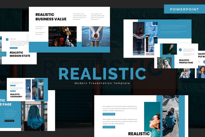 Thumbnail for Realistic - Powerpoint Template