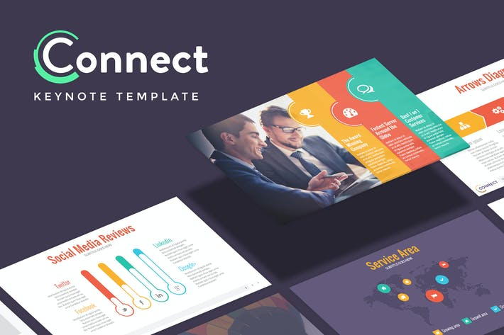 Thumbnail for CONNECT - Marketing Keynote Template