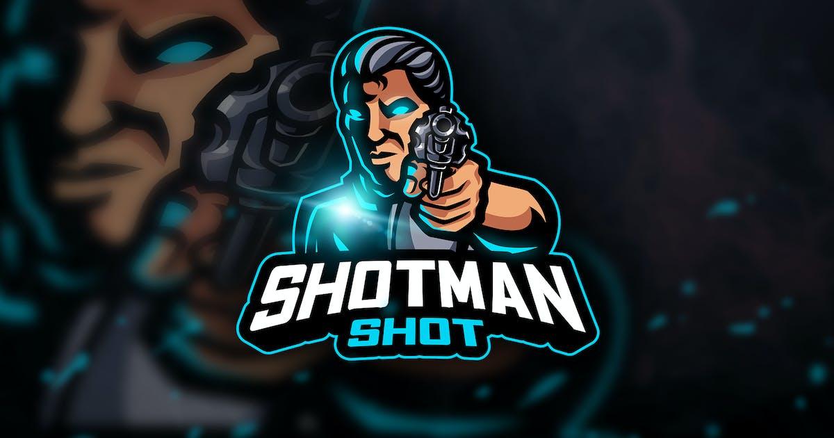 Download Shotman Shot - Mascot & Esport Logo by aqrstudio