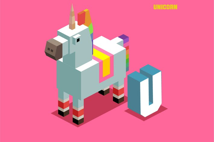 Thumbnail for Unicorn Animal Alphabet