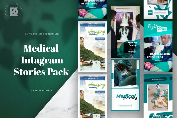 Thumbnail for Medical Instagram Stories Pack