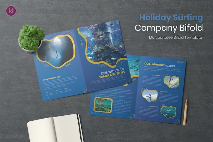 Thumbnail for Brochure Bifold Surf