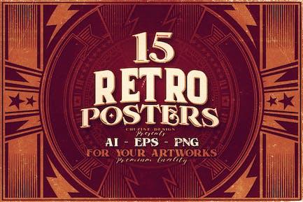 15 affiches rétro