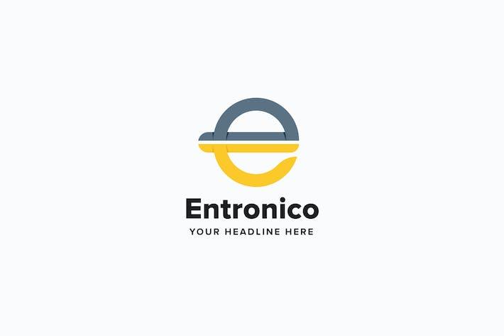 Thumbnail for Entronico E Letter Logo Template