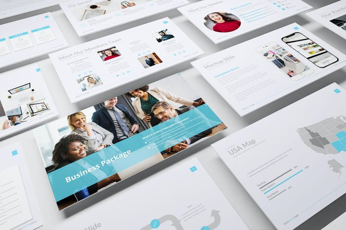 Thumbnail for Business Package – Creative Business PowerPoint