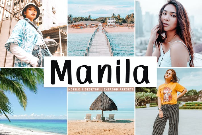 Thumbnail for Manila Mobile & Desktop Lightroom Presets