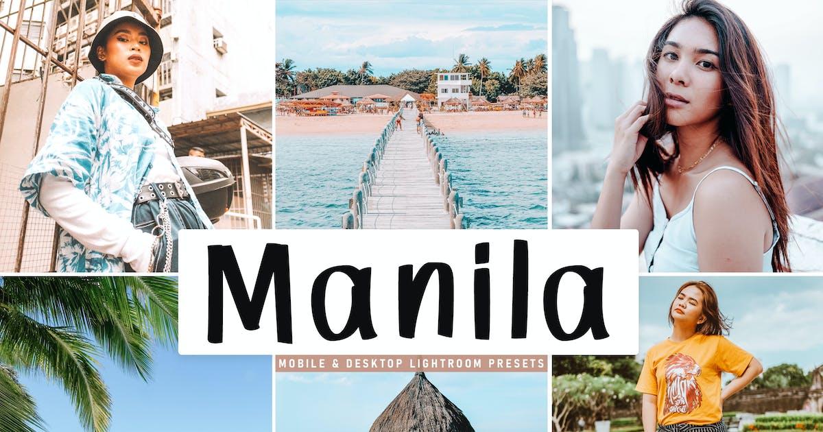 Download Manila Mobile & Desktop Lightroom Presets by creativetacos